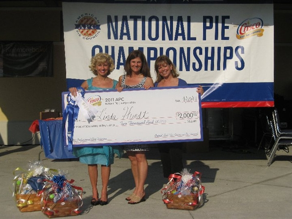 Linda and Crew Win at the National Pie Championships