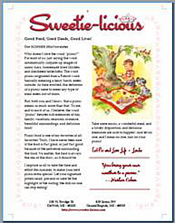 Summer Sweetie-licious News