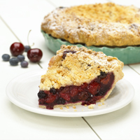 Tom's Cheery Cherry Cherry Berry Pie