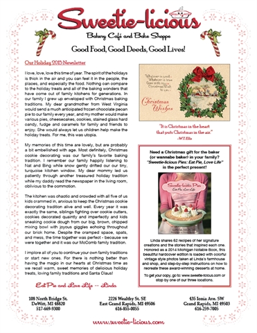 Holiday Newsletter 2015