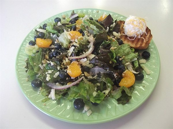 Bountiful Blueberry Salad!
