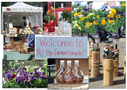 Summer Hours & the DeWitt Farmer's Market