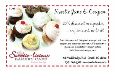 June Sweetie E-Coupon...