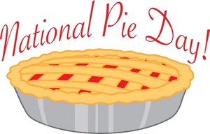 January 23rd. is National Pie Day!