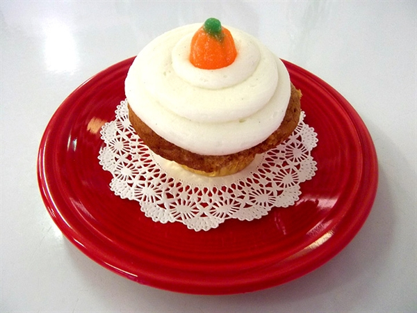 Treat of the Week - Perky Pumpkin Cupcakes