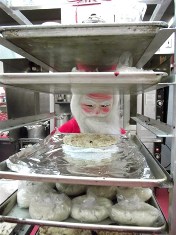 Santa at the Shop...
